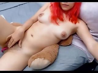 diociottenni, amatoriale, pelosa, fica pelosa, masturbazione, fica, tette piccole, da sola, Adolescente, webcam