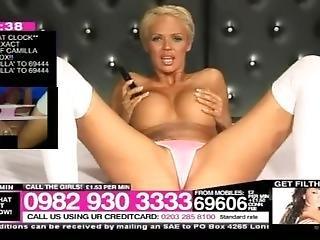 røv, babe, stor røv, stort bryst, blond, britisk, pink, sokker, alene, diller