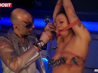 German Hot Milf Enjoys Being Tied Up And Abused In Kinky Bdsm Fetish