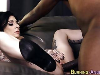Goth Whore Has Anal Sex