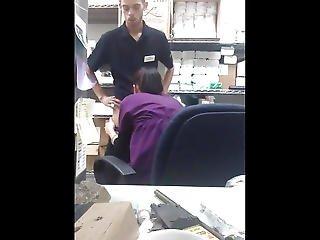 Amazon Employees Fuck On The Job