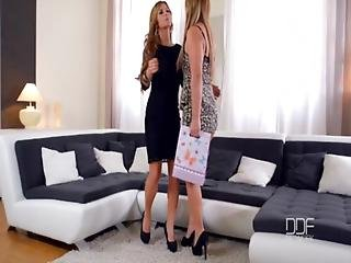 Euro Babes Lana And Dorothy Black Fucking Till Orgasm