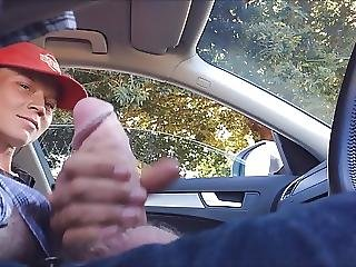 Dickflash Teen Jerks Me To Orgasm For A Few Dollars