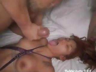 Skinny Brazil Teen With Bubble Butt Riding At Its Best Twerkin On That Dick