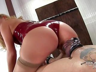 Chastity Cage Tease