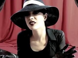 fetish, handsker, goth, hat, ledder, alene