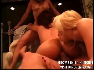 Three Ladies Overwhelm Him With Joy 2