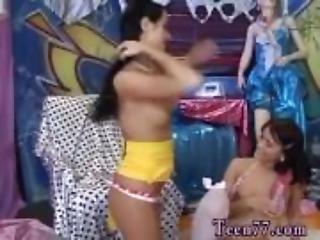 Brunette lesbian ass worship first time Hot