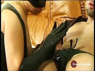 6 Movies.com   Blow And Handjob In Latex