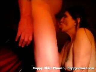 Cumshot In Mouth Of Ugly Amateur Granny