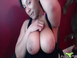 Hot Black Caramel Kitten With A Big Twerking Hot Booty Ass