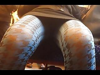 Horny Teengirl In Blue Stockings