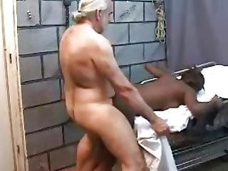 Older White Guy Fucks Young Black Girl