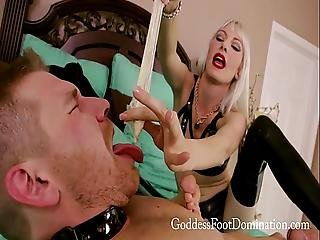 Bound And Locked Cheating Boyfriend With Goddess Jane