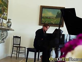 amatõr, kutyapóz, megfúrva, fekete, baszás, hardcore, zongora, valóság, Tini