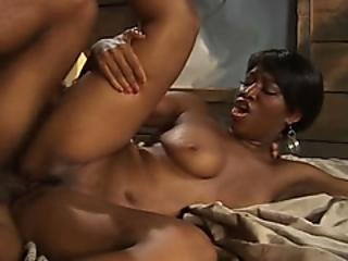 Black Hottie Banged By Horny Friend