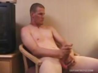 Jack McLoan Gets Naked and Jerks Off