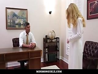 Mormon Girlz- Red Head Exploited At Church