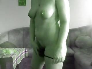Bulgarian Woman Doing Striptise