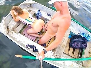 amatør, anal, babe, blowjob, båt, par, cumshot, knulling, offentlig, Tenåring, Tenåring Anal