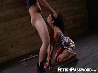 Busty Latina Teenagers Like Lola Love Keep Getting Themselves Into Trouble With Big Cock This Time Her Pussy Got Itself Into A Dungeon!