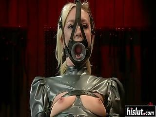 Maia Davis Got Tied Up Before A Stranger Punished Her With Toys