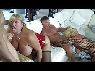Hot Mature Busty Cougars Gangbanged