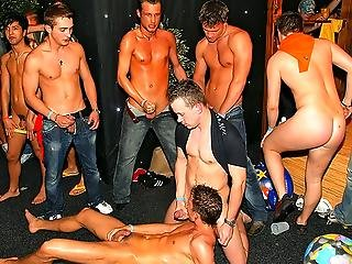 Gay Jeans Orgy