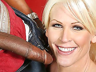 Breasty Blond Kaylee Brookshire Acquires Creampied By Bbc