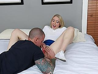 Hardcore Fucking With A Very Innocent Blonde Teen