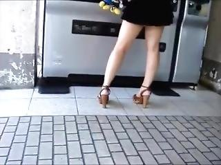 Candid Open High Heels In Public 18