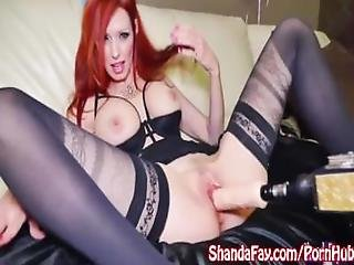Milf Shanda Fay Gets Off With Fucking Machine%21
