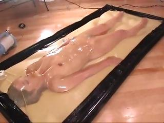 Japanese Girl For A Long Time In The Vacbed