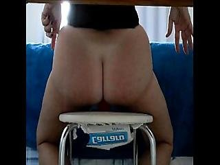 Delicious Mature Wife And Red Dildo.avi