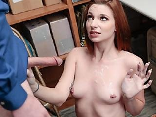 Teen Suspect Jaycee Trades Tight Pussy For Freedom