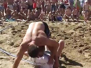 Strong Girl Sand Wrestling Tournament - Wrestling Matches