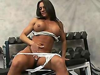 Strong Woman Kristien Madison Is Determined To Make Two Studs Cum