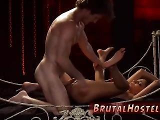 anal, bondage, biedna, ostro, seks, Nastolatki, Nastolatek Anal