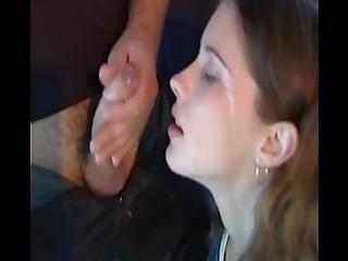 amateur, éjaculation, dans la tête, doigtage, extérieur, russe, rasée, Ados