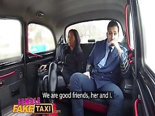 Female Fake Taxi Pilot Delivers Facial After Landing His Cock In Euro Pussy