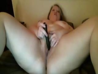 Lusty Bbw With Big Sexy Belly Masturbates Phat Pussy