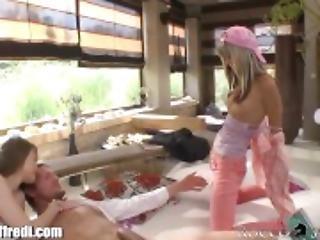 RoccoSiffredi Gina Gerson Anal Threesome