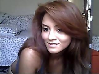 Cute Teen Tease On Webcam