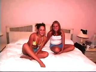 2 College Girls First Time