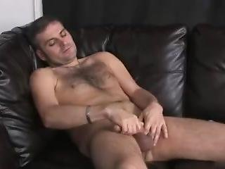 Horny Dude Dj Pleasures Himself With A Good Wank