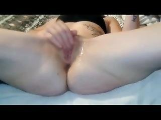 Hot And Horny Redheaded Wife -wet Pussy Play Masterbation