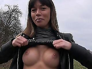 Bubbly Russian Babe Mona Kim Fucks For A Fist Full Of Cash