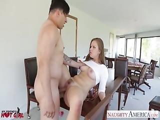 Busty Blonde Babe Jillian Janson Fucking