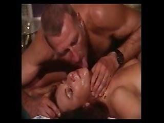 Licking His Cum After A Facial