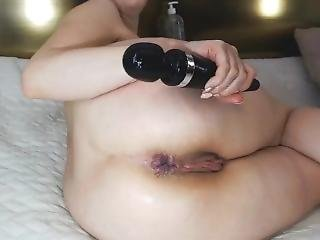 Solo Masturbation Big Anal Insertion